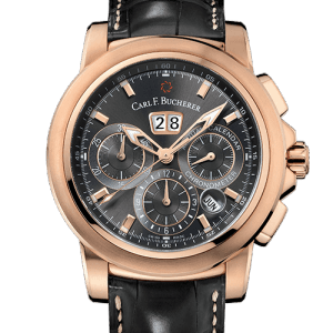 Carl F. Bucherer Patravi ChronoDate Annual Rose Gold