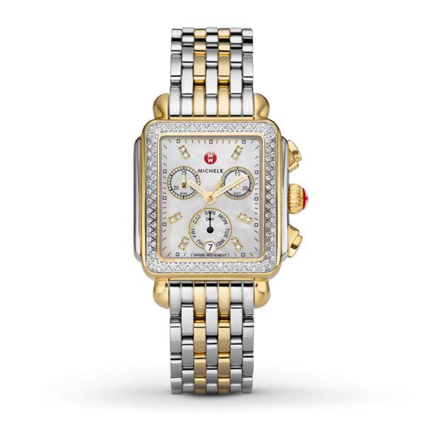 Michele Deco Two-Tone Diamond