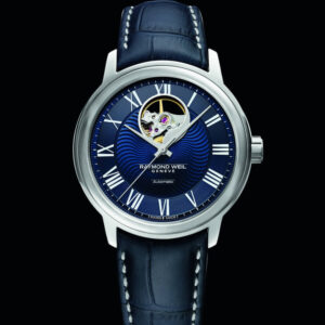 Raymond Weil Maestro Blues Visible Balance Wheel
