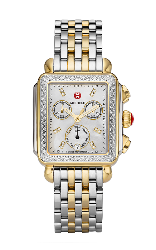 Michele Deco Diamond Two-Tone