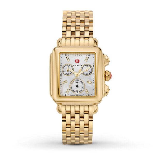 Michele Deco Diamond Gold
