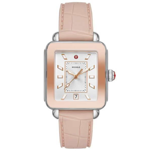 Michele Deco Sport Two-Tone Pink Gold
