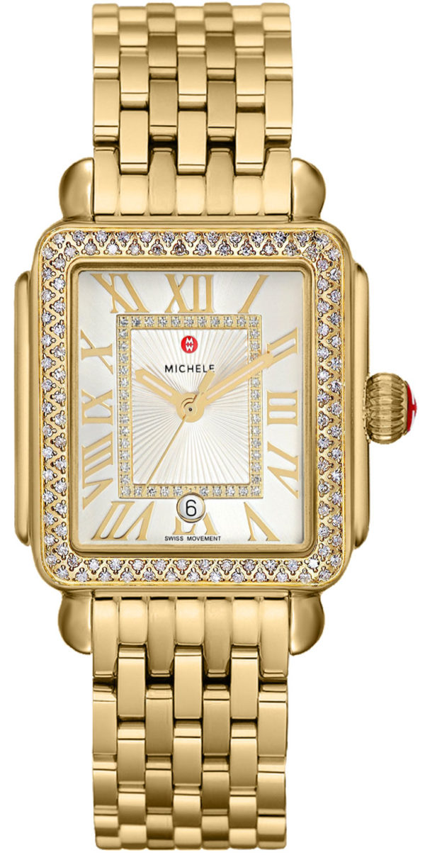 Michele Deco Madison Gold Diamond