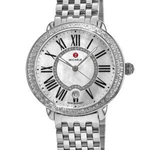 Michele Serein Mid Stainless Steel Diamond