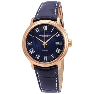 Raymond Weil 'Maestro Blues' Rose Tone